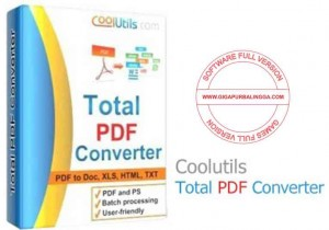 Download Coolutils Total PDF Converter 6.1.0.39 Full Crack