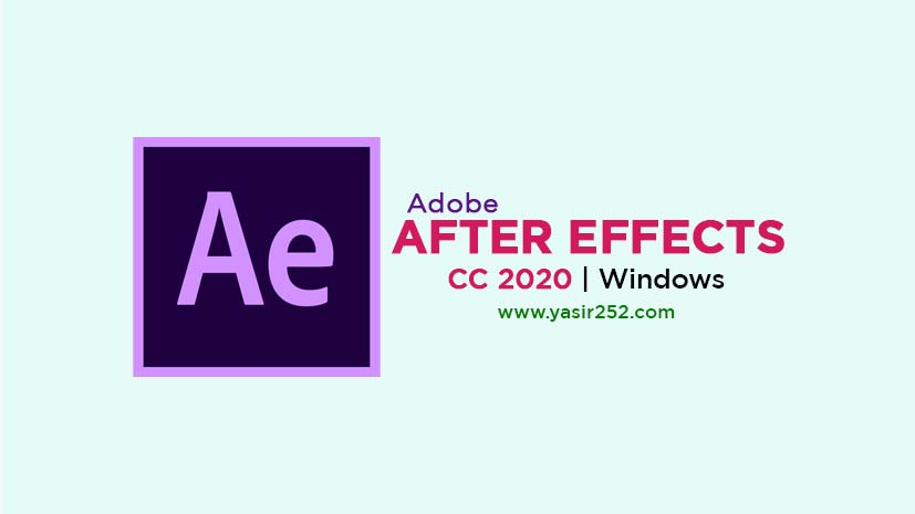Download Adobe After Effects 2020 Windows v17.1.1 Full Version