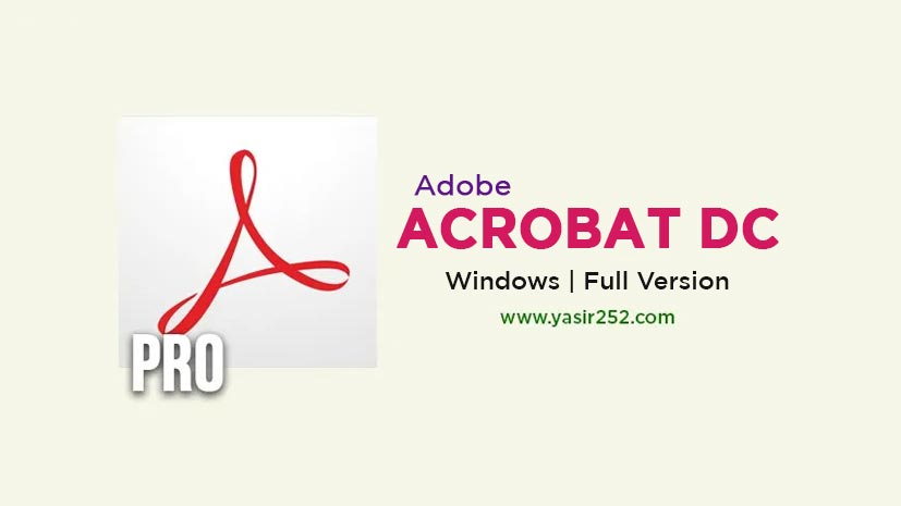 Download Adobe Acrobat Pro DC 2020 (Windows) Full Version